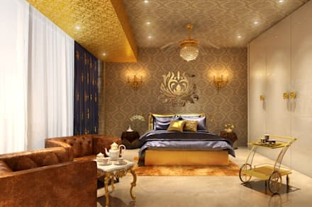 classic Bedroom by AAMRAPALI BHOGLE