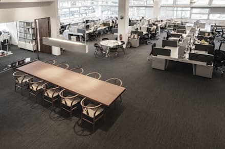 HB Design Studio:  Offices & stores by HB Design Pte Ltd