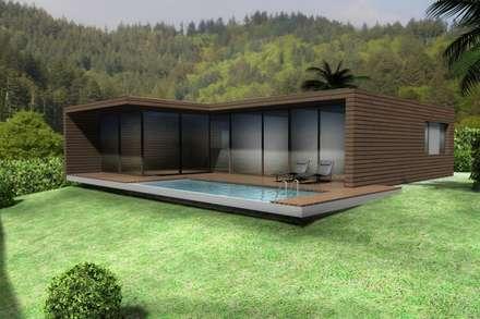 Moradia Santo da Serra: Habitações  por Desicon Desenho e Construção Civil lda