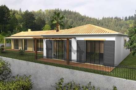 country Houses by Desicon Desenho e Construção Civil lda