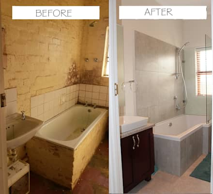 Before & After: classic Bathroom by Covet Design