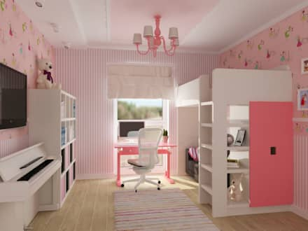kinderzimmer einrichtung ideen homify. Black Bedroom Furniture Sets. Home Design Ideas