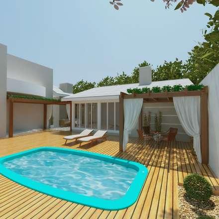 classic Garage/shed by Cíntia Schirmer | Estúdio de Arquitetura e Urbanismo