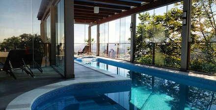 Piscinas de estilo moderno por TODDO Arquitetura e Engenharia