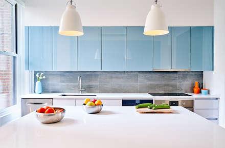 Park Slope Townhouse Modern Kitchen By Sarah Jefferys Design