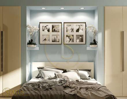 проект квартиры: Спальни в . Автор – status