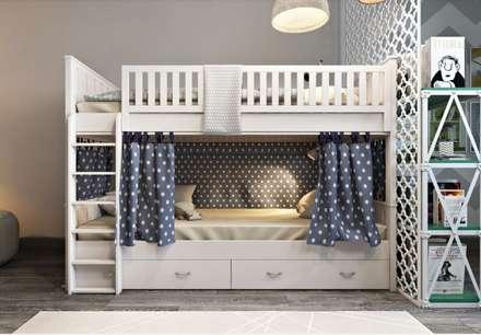 Стильный и сочный: Детские комнаты в . Автор – Наталья Преображенская | Студия 'Уютная Квартира'