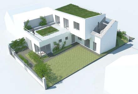 GAGNY: Maisons de style de style Moderne par Florence Gaudin architecte