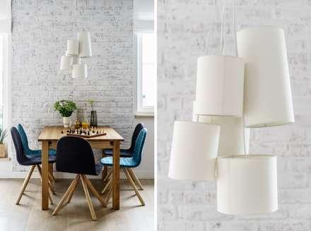 Jadalnia: styl , w kategorii Jadalnia zaprojektowany przez Saje Architekci Joanna Morkowska-Saj