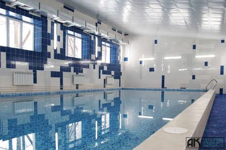 Бассейн, вид 2: Бассейн в . Автор - AK interior design group
