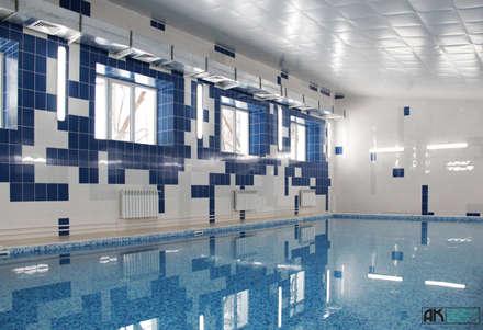 Бассейн, вид 3: Бассейн в . Автор - AK interior design group