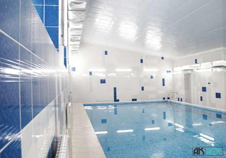 Бассейн, вид 5: Бассейн в . Автор - AK interior design group