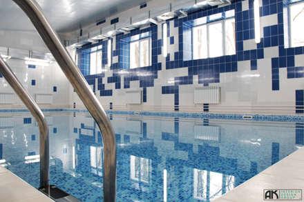 Бассейн, вид 6: Бассейн в . Автор – AK interior design group