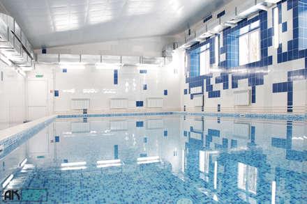 Бассейн, вид 7: Бассейн в . Автор – AK interior design group