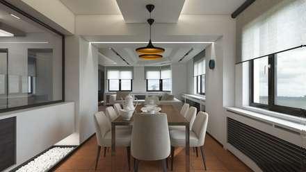Meteor Mimarlık & Tasarım - RESIDENCE: modern tarz Yemek Odası
