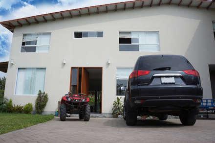 Una CASA DE CAMPO para soñar: Casas de estilo rústico por malu goni