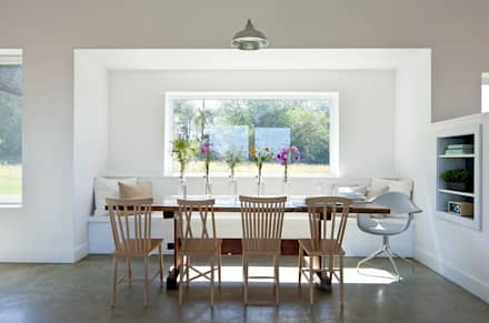 Dining: modern Dining room by ZeroEnergy Design