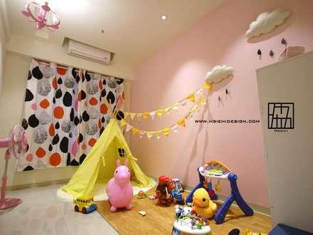 遊戲區:  嬰兒/兒童房 by 協億室內設計有限公司