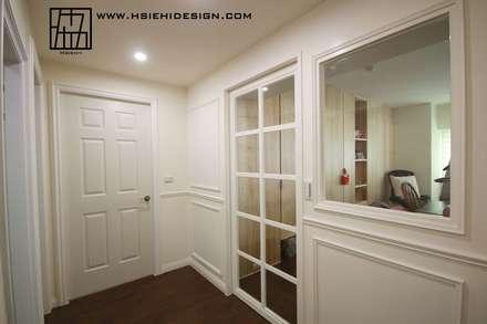 立面設計:  牆壁與地板 by 協億室內設計有限公司