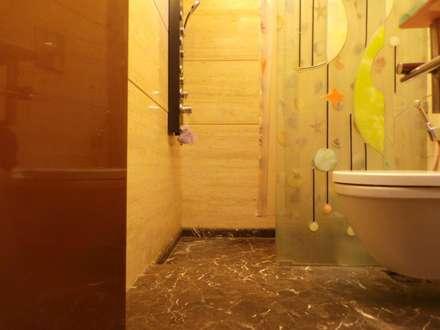 : modern Bathroom by Koncept Architects & Interior Designers