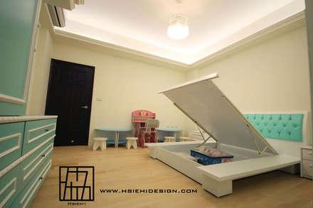 小孩房:  嬰兒/兒童房 by 協億室內設計有限公司