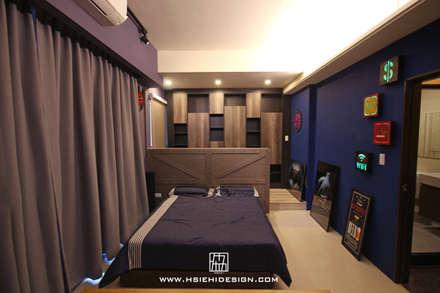 Phòng ngủ by 協億室內設計有限公司