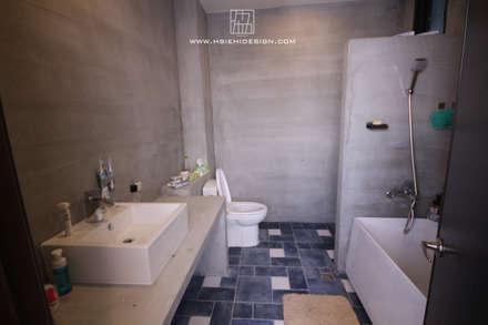 industrial Bathroom by 協億室內設計有限公司
