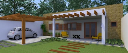 Arquitetura Pronta의  주택
