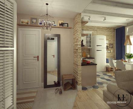 Прихожая в Скандинавском стиле от мастерской IvE interior: Коридор и прихожая в . Автор – Iv-Eugenie