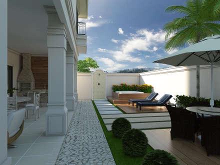 Projeto de Casa Neoclássica Sobrado: Casas clássicas por Caio Pelisson - Arquitetura e Design