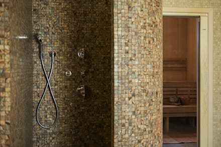 Дом и баня в поселке Гавриково, МО.: Спа в . Автор – ItalProject
