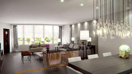 Salon / Living Room: Salon de style de style Moderne par Luxury Interiors