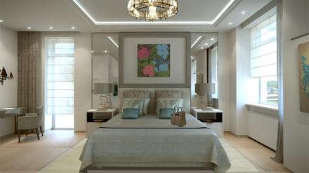 Chambre Parentale: Chambre de style de style Moderne par Luxury Interiors