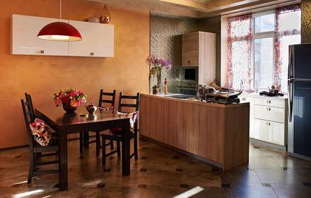 Реконструкция интерьера для молодой семьи с маленькими детьми: Кухни в . Автор – Архитектор и дизайнер Михаил Топоров