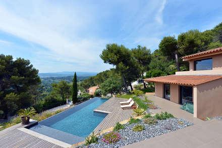 Création maison le beausset maisons de style de style méditerranéen par atelier jean gouzy