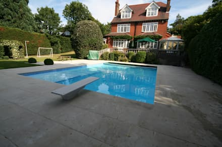 AFTER REFURBISHEMT: classic Pool by Tanby Swimming Pools