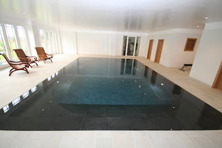 AFTER REFURBISHMENT: modern Pool by Tanby Swimming Pools