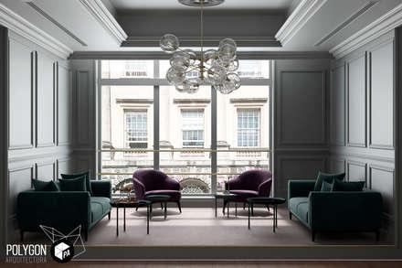 Trabajo de renderización: Salas de estilo clásico por Polygon Arquitectura