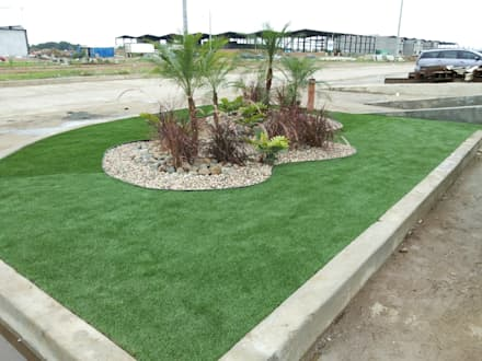 PANAPARK FREE ZONE - PANAMA: tropical Garden by TARTE LANDSCAPES