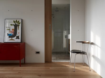 2號‧源:  牆壁與地板 by 洪文諒空間設計