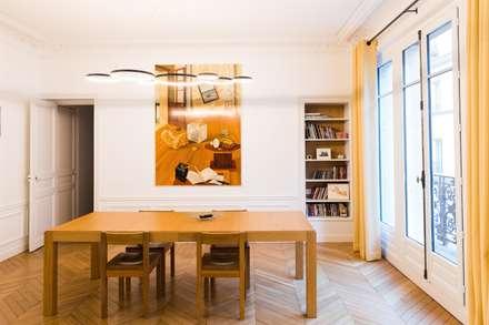 Autour d'une Cuisine dînatoire : Salle à manger de style de style Moderne par ATELIER FB