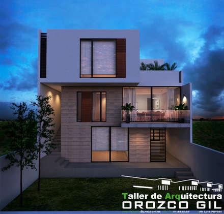 CASA MONTERRA 3: Casas de estilo minimalista por OROZCO GIL TALLER DE ARQUITECTURA