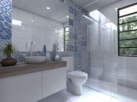 Cuarto de Baño: Baños de estilo  por Arqternativa