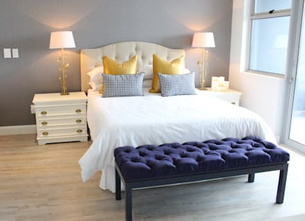 Apex Building - Penthouse: modern Bedroom by House of Gargoyle