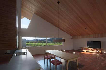 小石原の家: 森裕建築設計事務所 / Mori Architect Officeが手掛けたキッチンです。