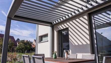 moderne terrassen ideen design und bilder homify. Black Bedroom Furniture Sets. Home Design Ideas