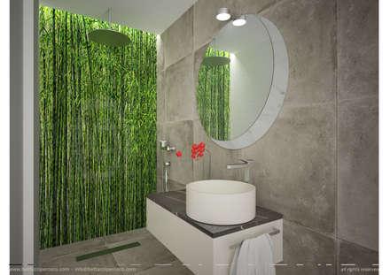 industrial Bathroom by B+P architetti