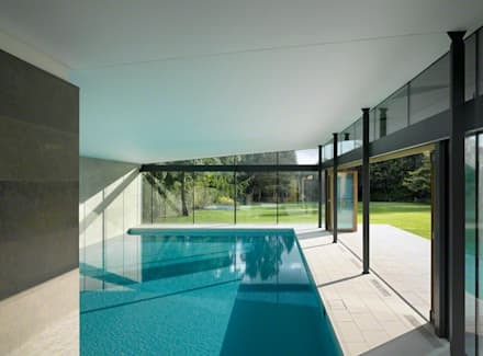 Moat Cottage: minimalistic Pool by Reid Architects