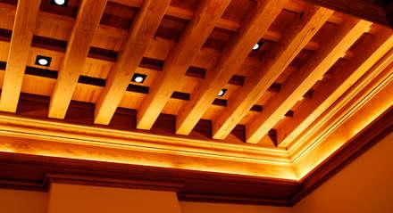 Refurbishment of existing house in Soller: rustic Living room by Tono Vila Architecture & Design