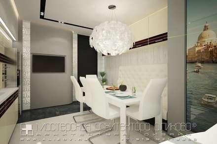 moderne Esszimmer von Мастерская архитектора Аликова